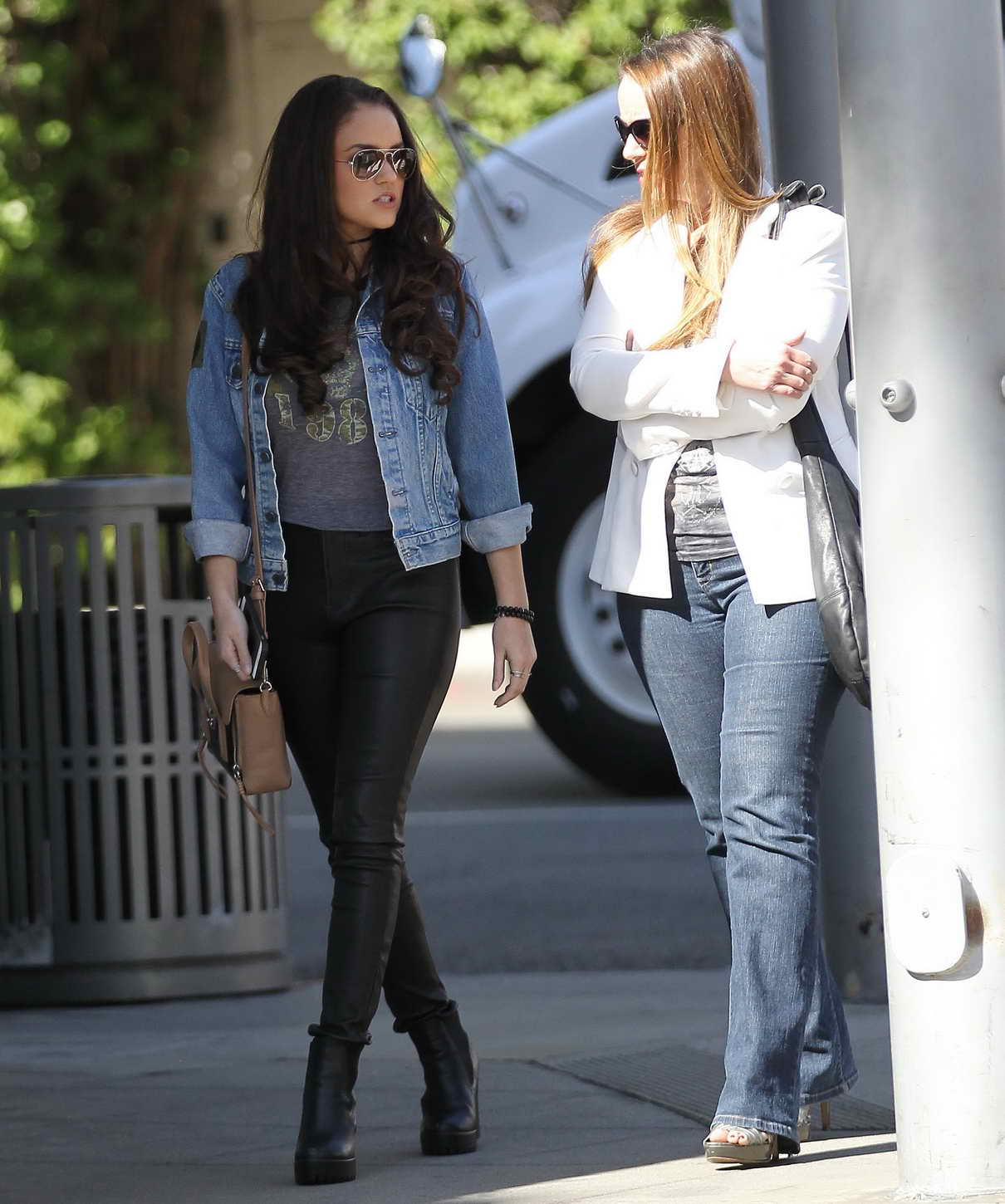 Madison Pettis Shopping in Beverly Hills 04/01/2016-5