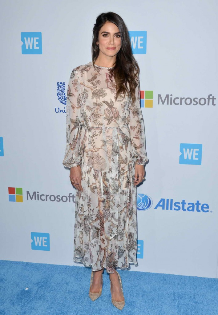 Nikki Reed at WE DAY California in Inglewood 04/07/2016-1