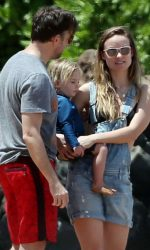 Olivia Wilde at the Beach in Hawaii 04/17/2016-4