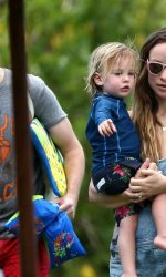 Olivia Wilde at the Beach in Hawaii 04/17/2016-5