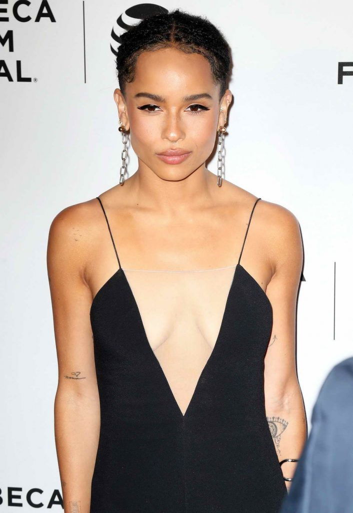 Zoe Kravitz at the Vincent N Roxxy Premiere at the Tribeca Film Festival in NY 04/18/2016-1