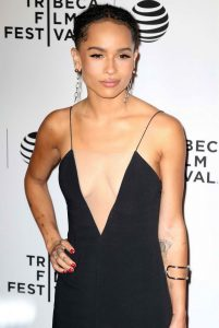 Zoe Kravitz at the Vincent N Roxxy Premiere at the Tribeca Film Festival in NY 04/18/2016-2