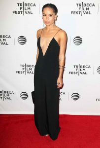 Zoe Kravitz at the Vincent N Roxxy Premiere at the Tribeca Film Festival in NY 04/18/2016-4