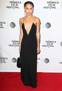 Zoe Kravitz at the Vincent N Roxxy Premiere at the Tribeca Film Festival in NY 04/18/2016-5