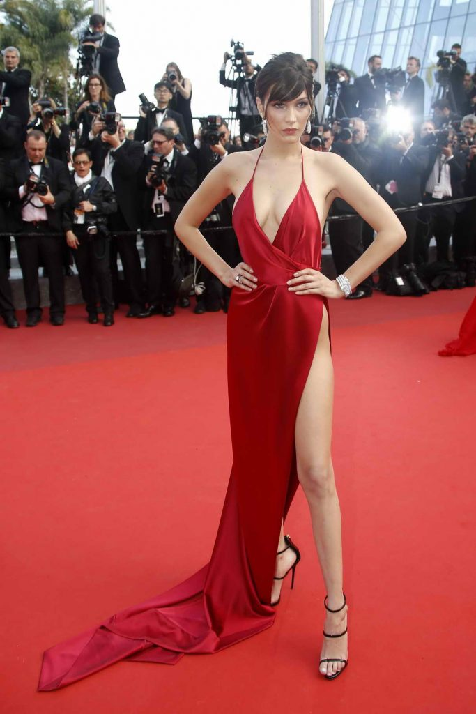 Bella Hadid at The Unknown Girl Premiere During the 69th Cannes Film Festival 05/18/2016-1