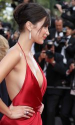 Bella Hadid at The Unknown Girl Premiere During the 69th Cannes Film Festival 05/18/2016-6