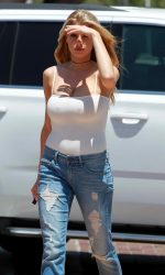 Charlotte McKinney Out and About in Malibu 05/26/2016-4