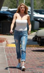 Charlotte McKinney Out and About in Malibu 05/26/2016-5