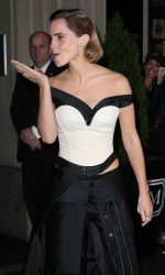 Emma Watson at the Costume Institute Gala in New York 05/02/2016-9