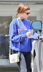 Kate Mara Leaves the Gym in West Hollywood 05/24/2016-4