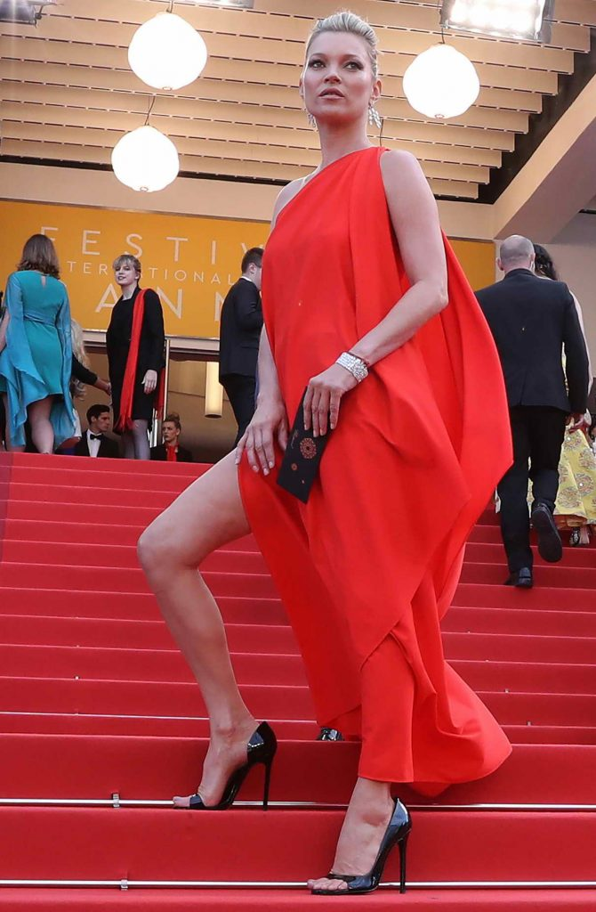 Kate Moss at The Loving Premiere During 69th Cannes Film Festival in Cannes 05/16/2016-1
