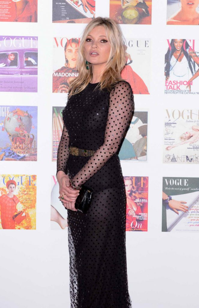 Kate Moss Attends British Vogue 100th Anniversary Gala Dinner at Kensington Gardens in London 05/23/2016-1