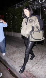Kylie Jenner Arrives at Il Cielo in Los Angeles 05/06/2016-4