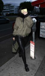 Kylie Jenner Arrives at Il Cielo in Los Angeles 05/06/2016-5