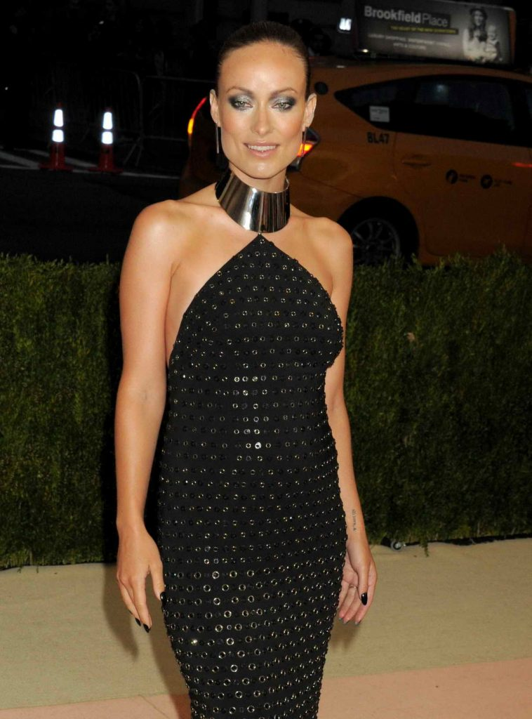 Olivia Wilde at the Costume Institute Gala in New York 05/02/2016-1