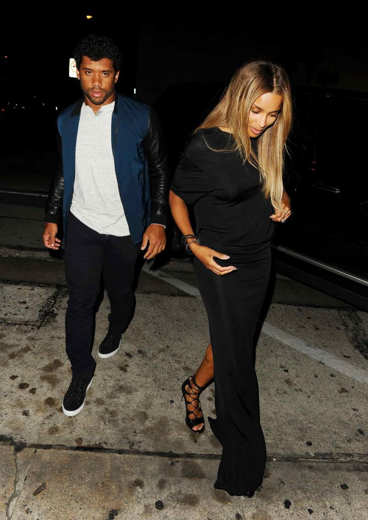 Ciara Arrives at Craig's Restaurant in West Hollywood 06/23/2016-1
