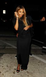 Ciara Arrives at Craig's Restaurant in West Hollywood 06/23/2016-3