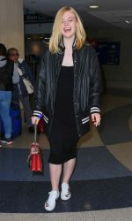 Elle Fanning Was Seen at LAX Airport in Los Angeles 06/23/2016-2