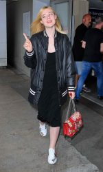 Elle Fanning Was Seen at LAX Airport in Los Angeles 06/23/2016-3