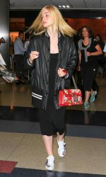 Elle Fanning Was Seen at LAX Airport in Los Angeles 06/23/2016-4
