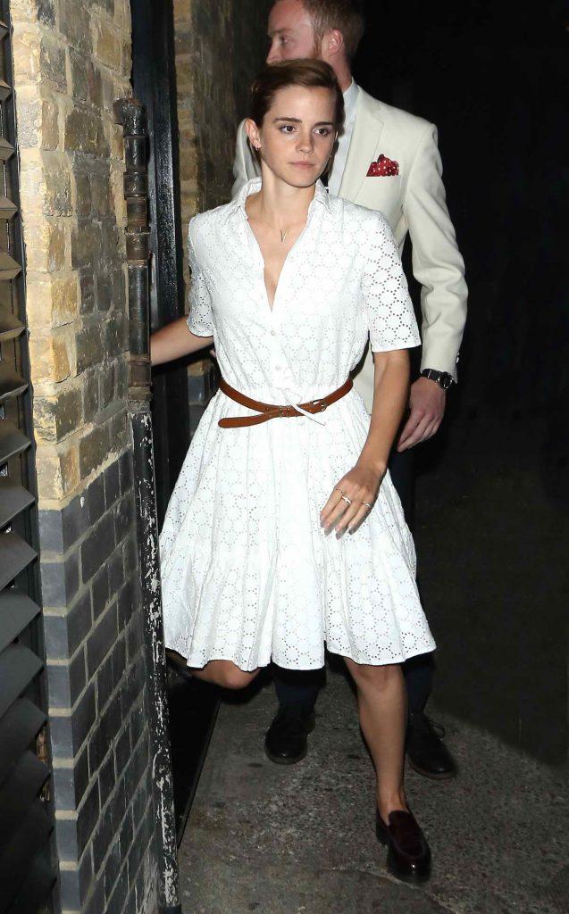 Emma Watson Leaves the Chiltern Firehouse in London 06/09/2016-1