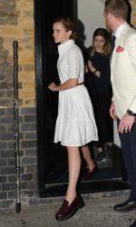 Emma Watson Leaves the Chiltern Firehouse in London 06/09/2016-2