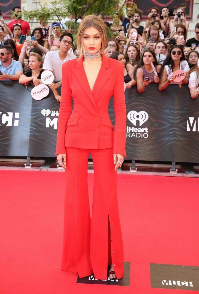 Gigi Hadid at MuchMusic Video Awards in Toronto 06/19/2016-1