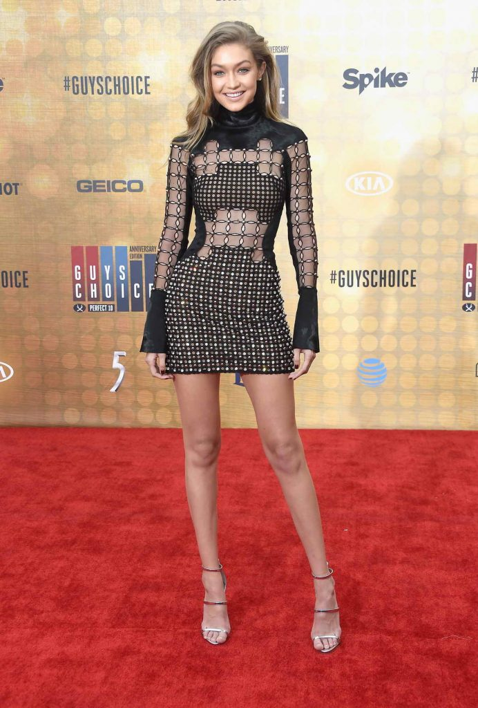 Gigi Hadid at the Spike TV's Guys Choice 2016 in Culver City 06/04/2016-1