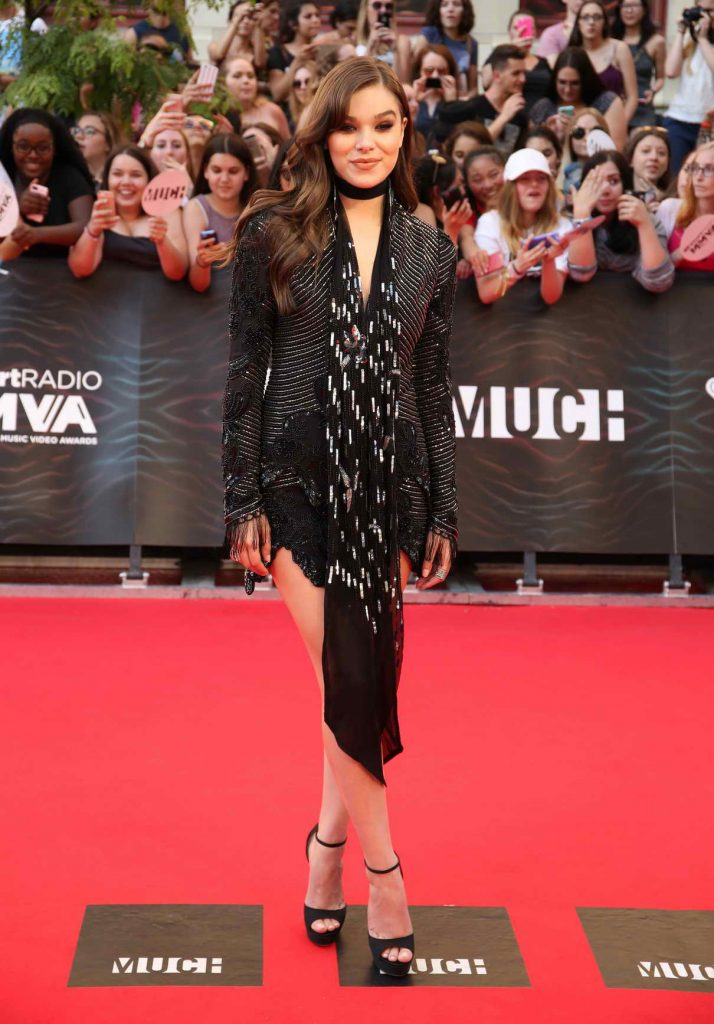 Hailee Steinfeld at MuchMusic Video Awards in Toronto 06/19/2016-1