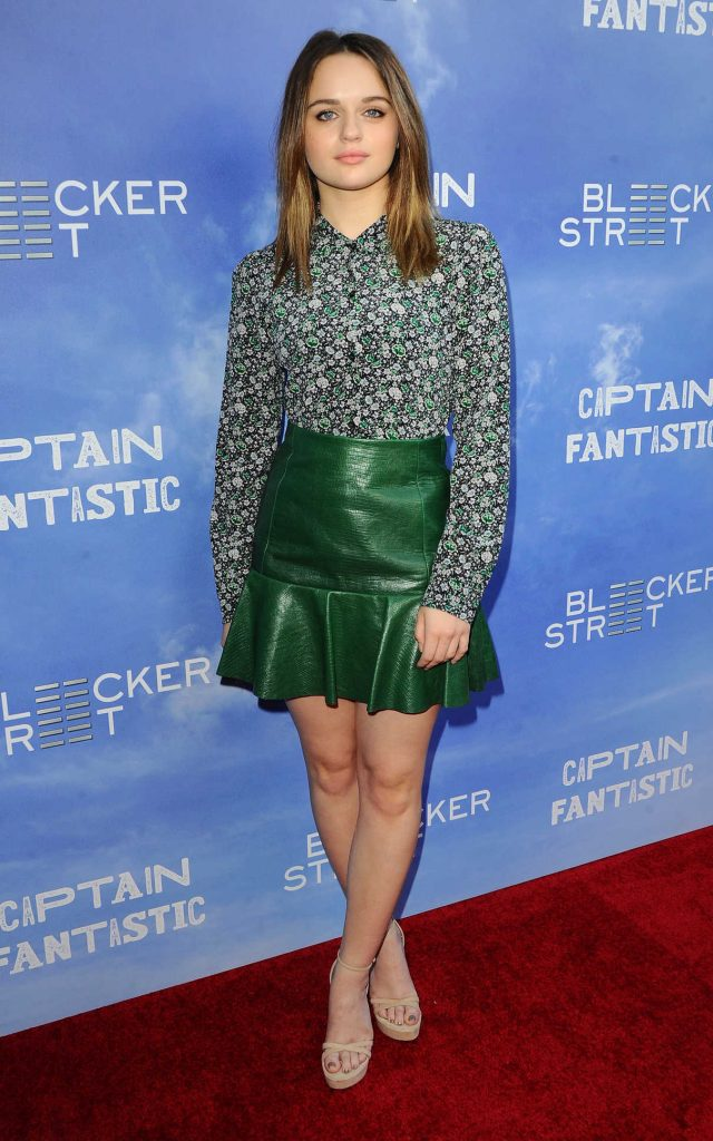 Joey King at the Captain Fantastic Premiere in Los Angeles 06/28/2016-1