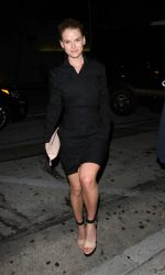 Alice Eve Arrives at Craig's Restaurant in West Hollywood 07/18/2016-2