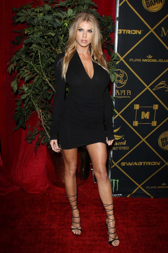 Charlotte McKinney at the 2016 MAXIM Hot 100 Party at the Hollywood Palladium in Los Angeles 07/30/2016-1