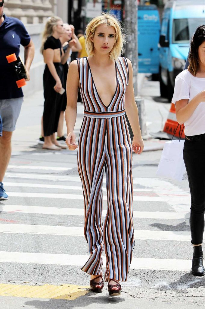Emma Roberts Was Seen Out in New York City 07/10/2016-1