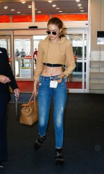 Gigi Hadid Arrives at JFK Airport in New York City 07/26/2016-3