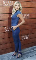 Hailey Baldwin at the Launch of Guess Dare Fragrance in Los Angeles 07/27/2016-3