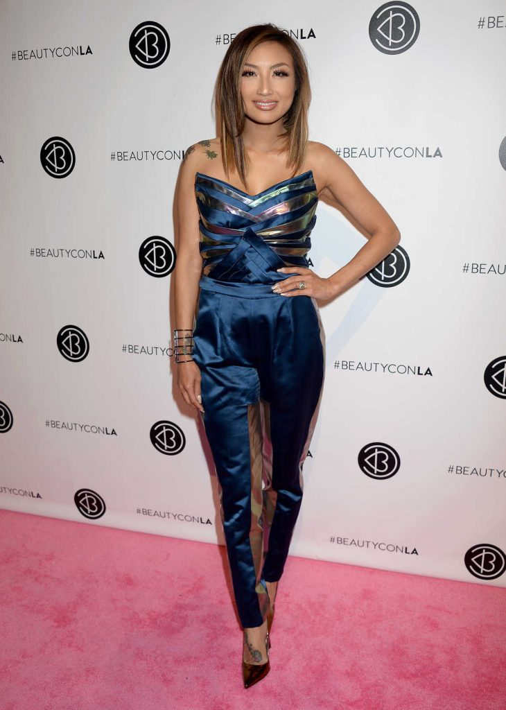 Jeannie Mai at the 4th Annual Beautycon Festival in Los Angeles 07/09/2016-1
