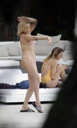 Kate Hudson in Bikini at a Pool in Ibiza 07/13/2016-2