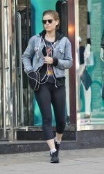 Kate Mara Goes Shopping in London 07/14/2016-2