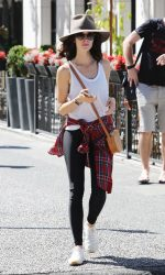 Abigail Spencer Was Seen Out in Vancouver 08/19/2016