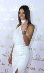Alessandra Ambrosio in White at the Omega House in Rio de Janeiro 08/07/2016-2