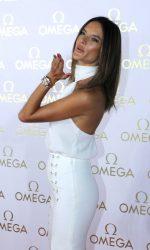 Alessandra Ambrosio in White at the Omega House in Rio de Janeiro 08/07/2016-3