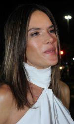 Alessandra Ambrosio in White at the Omega House in Rio de Janeiro 08/07/2016-5