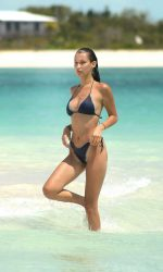 Bella Hadid Wearing a Bikini at the Beach in Turks and Caicos 08/12/2016-3