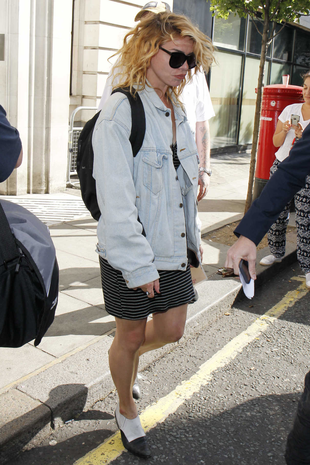 Billie Piper Was Spotted Out in London 08/12/2016-3