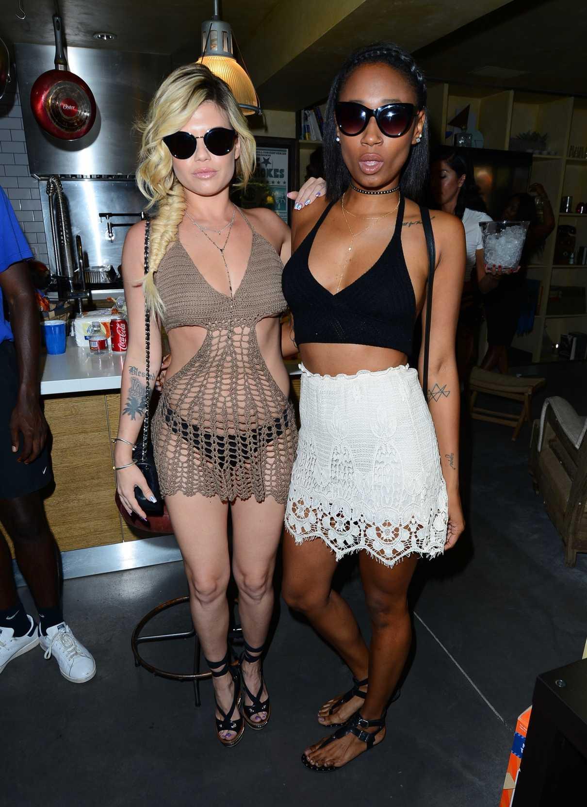 [PIC] Chanel West Coast Topless — Scandalous Pics Leak Of