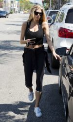 Charlotte McKinney Was Seen Out in Beverly Hills 08/04/2016-4