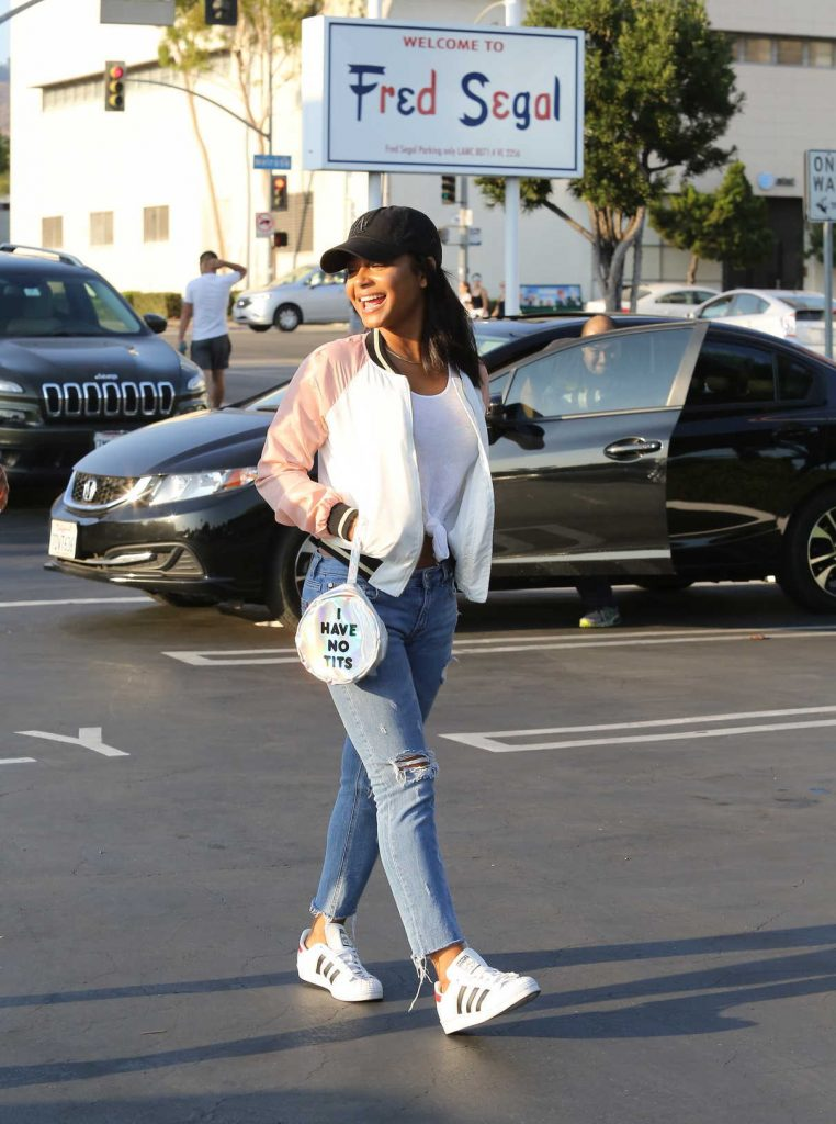 Christina Milian Shops at Fred Segal in West Hollywood 08/26/2016-1