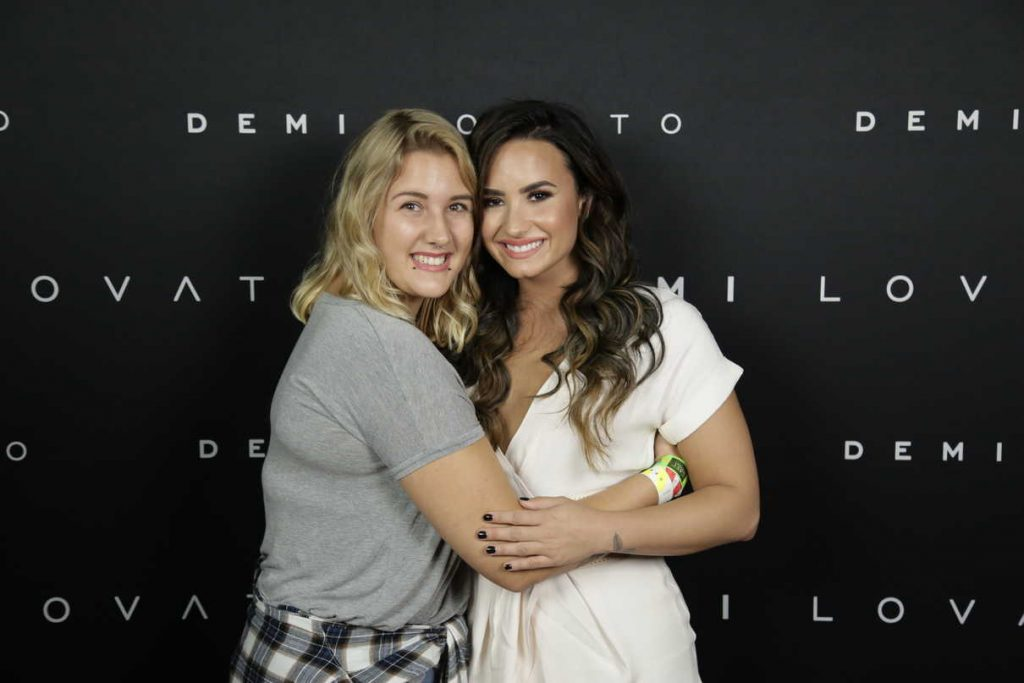 Demi Lovato at the Meet and Greet in Edmonton 08/26/2016-1