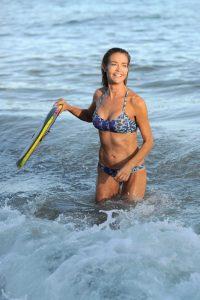 Denise Richards in Bikini at the Beach in California 07/31/2016-3