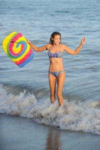 Denise Richards in Bikini at the Beach in California 07/31/2016-6